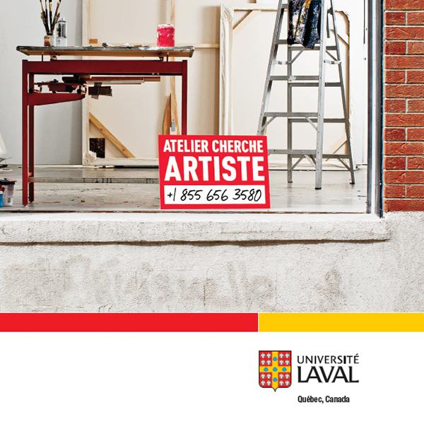 Université Laval : cherche artiste